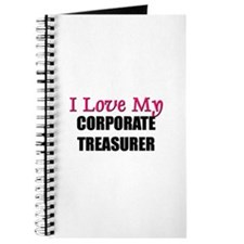 I Love My CORPORATE TREASURER Journal