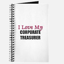 I Love My CORPORATE TREASURER Journal