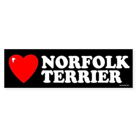 NORFOLK TERRIER Bumper Sticker