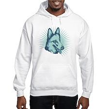 American White Shepherd Hoodie