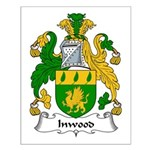Inwood Family Crest Small Poster