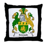 Inwood Family Crest Throw Pillow