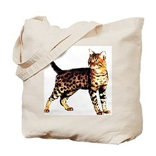 Bengal Cat: Raja Tote Bag