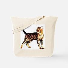Bengal Cat: Raja Tote Bag