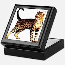 Bengal Cat: Raja Keepsake Box