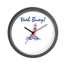 Yeah Buoy! Wall Clock
