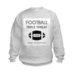 TOP Football Slogan Kids Sweatshirt