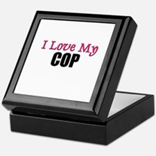 I Love My COP Keepsake Box