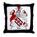 Ince Family Crest Throw Pillow