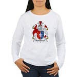Hutchinson Family Crest  Women's Long Sleeve T-Shi