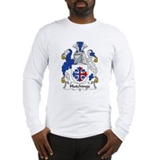 Hutchings Family Crest Long Sleeve T-Shirt