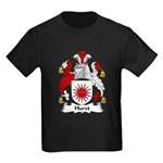 Hurst Family Crest Kids Dark T-Shirt