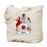 Hurst Family Crest Tote Bag