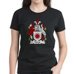 Hurst Family Crest Women's Dark T-Shirt