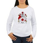 Hurst Family Crest Women's Long Sleeve T-Shirt