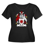 Hurst Family Crest Women's Plus Size Scoop Neck Da
