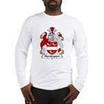 Huntington Family Crest  Long Sleeve T-Shirt
