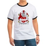 Huntington Family Crest Ringer T