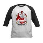 Huntington Family Crest  Kids Baseball Jersey