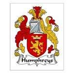 Humphreys Family Crest Small Poster