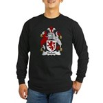 Hulton Family Crest Long Sleeve Dark T-Shirt