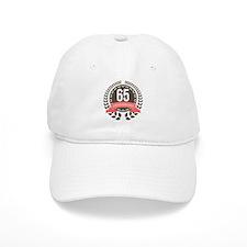 65 Years Anniversary Laurel Badge Baseball Cap