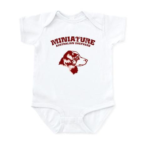 Australian Shepherd (Miniatur Infant Bodysuit