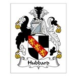 Hubbard Family Crest Small Poster