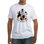 Hubbard Family Crest  Fitted T-Shirt
