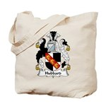 Hubbard Family Crest Tote Bag