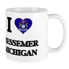 I love Bessemer Michigan Mug