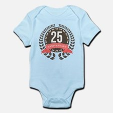 25 Years Anniversary Laurel Badge Infant Bodysuit