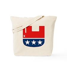Funny Gop elephant Tote Bag