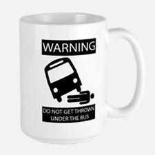 Under the Bus (Male) Mugs