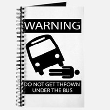 Cute Under the bus Journal