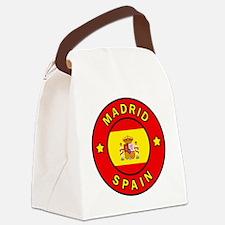 Madrid Canvas Lunch Bag