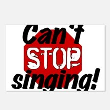 Can't Stop Singing! Postcards (Package of 8)