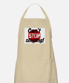 Can't Stop Singing! BBQ Apron
