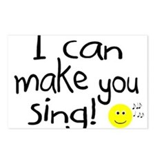 I Can Make You Sing Postcards (Package of 8)