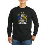 Holmes Family Crest Long Sleeve Dark T-Shirt