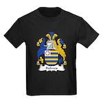 Holmes Family Crest Kids Dark T-Shirt