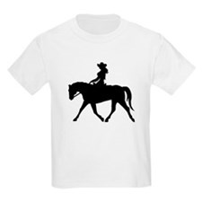 Cute Cowgirl on Horse T-Shirt