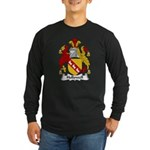 Hollowell Family Crest Long Sleeve Dark T-Shirt