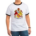 Hollowell Family Crest Ringer T