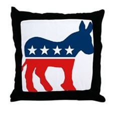 Cute Dnc Throw Pillow
