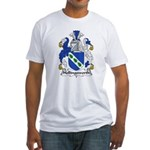 Hollingsworth Family Crest Fitted T-Shirt