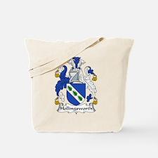 Hollingsworth Family Crest Tote Bag