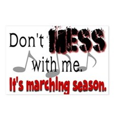 Don't Mess With Me...Marching Postcards (Package o