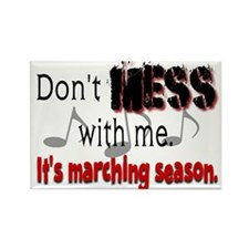 Don't Mess With Me...Marching Rectangle Magnet