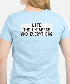 42 - Life, The Universe & Everything Women's Pink